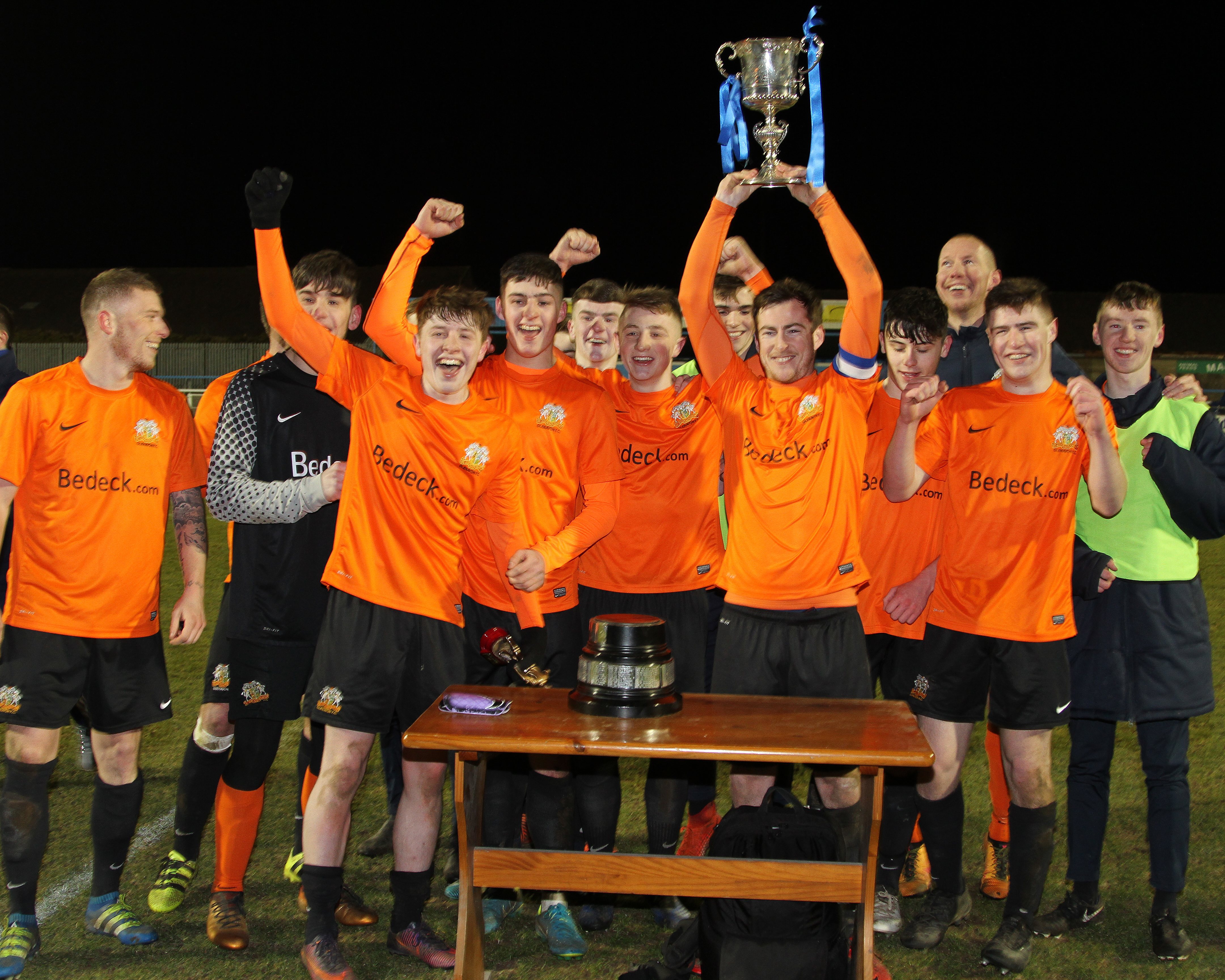 Gary Praises Players and Coaches for Cup Win